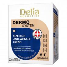 Delia Крем для лица против морщин Dermo System Semi-Rich