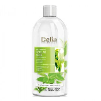 Delia Мицеллярная глубоко очищающая вода с экстрактом зеленого чая