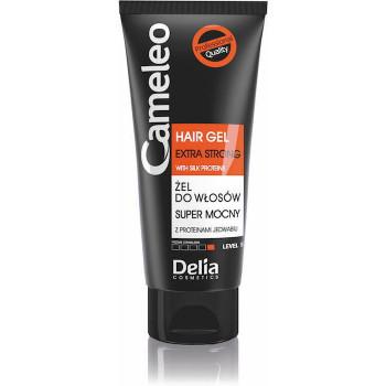 Delia Гель для укладки волос сверхсильной фиксации Hair Gel Extra Strong Cameleo