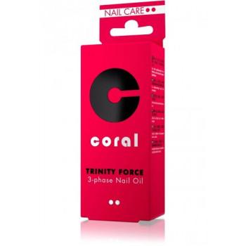 Delia Масло для ногтей 3-фазное Coral Pharma