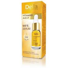 Delia Vitamins A+E+F 100% Сыворотка для лица,шеи и декольте с Витаминами A+E+F