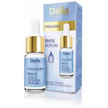 Delia Сыворотка для лица, шеи и декольте с коллагеном Collagen