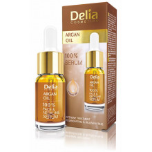 Delia Argan Oil 100% Сыворотка для лица, шеи и декольте с маслом арганы