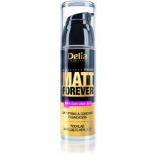 Delia Матирующий тональный крем с кроющим эффектом Matt Forever