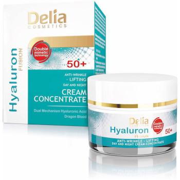 Delia Крем для лица с гиалуроновой кислотой Hyaluron Fusion 50+