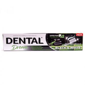 Dental Dream Зубная паста с активированным углём бамбука Black&White