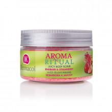 Dermacol Body Aroma Ritual Пилинг для тела розглаживающй Ревень и Клубника - Уход за лицом и телом (арт.21507)