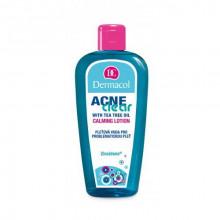 Dermacol Acne Clear Очищающий лосьон для проблемной кожи с маслом чайного дерева Calming Lotion