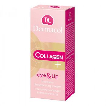 Распродажа Dermacol Интенсивно-омолаживающий крем для век и губ Collagen Plus
