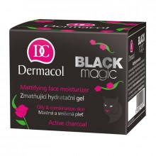 Dermacol Увлажняющий крем-гель для лица с матирующим эффектом для комбинированной и жирной кожи с активированным углем Black Magic