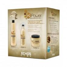 Echosline Подарочный набор для кератинового восстановления волос Ki Power