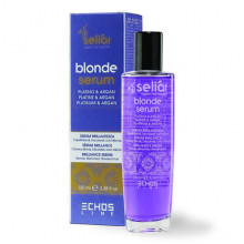 Echosline Аргановая сыворотка для осветленных волос с платиной Seliar Blond