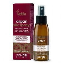 Echosline Разглаживающий спрей для волос с шелковым эффектом на основе масла арганы Seliar Argan