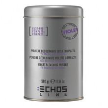 Echosline Безпылевой фиолетовый осветляющий порошок для волос