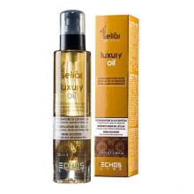 Echosline Масло для волос с эффектом ламинирования для блеска сухих и обезвоженных волос Seliar Luxury