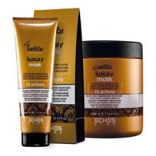 Echosline Увлажняющая маска мгновенного действия для блеска сухих и обезвоженных волос Seliar Luxury