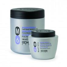 Echosline Маска против желтизны для осветленных и седых волос M6
