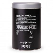 Echosline Беспылевой осветлитель до 9 уровней с активированным углем Karbon 9 Charcoal Extra Bleach