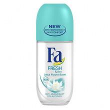 """Fa Дезодорант роликовый """"Цветок лотоса"""" Fresh & Dry"""