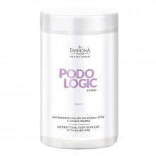 Farmona Соль для ванны стоп антибактериальная с ионами серебра Podologic Fitness