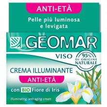 Geomar Омолаживающий и осветляющий крем для лица с органическими цветами ириса Face