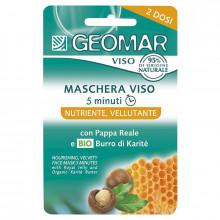 Geomar Питательная маска для лица с маточным молочком и органическим маслом карите Face