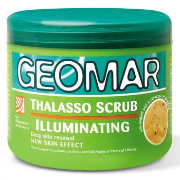 Geomar Осветляющий скраб для тела с морской солью и лимоном Body Thalasso