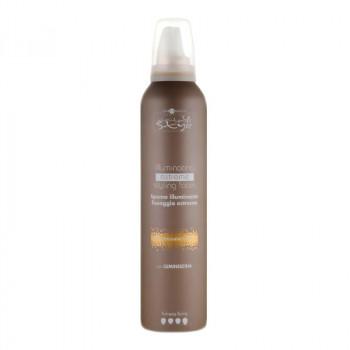 Hair Company Мусс для блеска сильной фиксации с Luminescina Inimitable Style