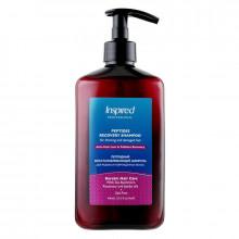 Inspired Восстанавливающий пептидный шампунь для редких и поврежденных волос Keratin