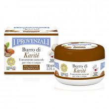 I Provenzali Смягчающее и восстанавливающее средство для сухой и потрескавшейся кожи лица и тела с маслом карите Karite