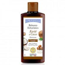 I Provenzali Шелковый кондиционер для сухих и кучерявых волос с маслом карите и кокоса Karite&Cocco