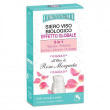 I Provenzali Органическая сыворотка для нормальной и комбинированной кожи лица с маслом розы 5в1 Rosa Mosqueta