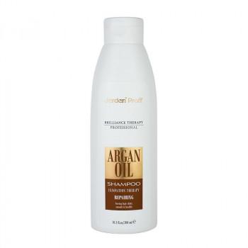 Jerden Proff Восстанавливающий шампунь для волос с аргановым маслом