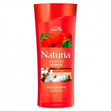 Joanna Шампунь для окрашенных волос с маком и хлопком Naturia