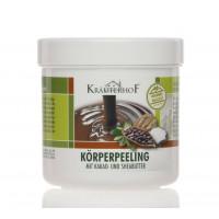Krauterhof Пилинг для тела с маслом плодов ши и какао