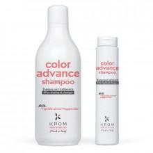 Krom Шампунь, поддерживающий цвет с растительными полиглицеридами Color Advance