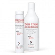 Krom Кондиционер очищающий с маслом чайного дерева, эвкалиптом и ментолом Tea Tree