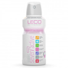 Leco Дезодорант-антиперспирант спрей женский Seven Active for women white