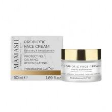 Mamash Organic Восстанавливающий крем-бальзам для сухой кожи лица с пробиотическим комплексом