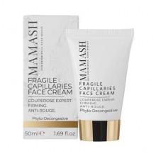 Mamash Organic Активный успокаивающий крем для чувствительной кожи лица с растительным комплексом