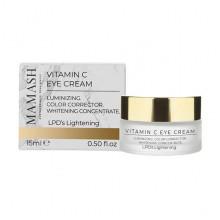 Mamash Organic Антиоксидантный крем против темных кругов под глазами с витамином С