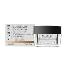 Mamash Organic Питательный ночной крем-бальзам для лица с экстрактом черной икры