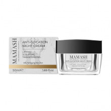 Mamash Organic Антивозрастной насыщенный ночной крем-бальзам для лица с пептидным комплексом