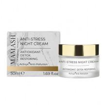 Mamash Organic Ночной крем-бальзам для ревитализации и обновления кожи с профессиональным комплексом Анти-стресс
