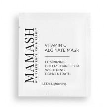 Mamash Organic Антиоксидантная альгинатная маска для выравнивания цвета лица с витамином С