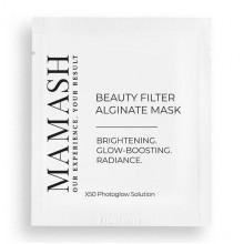Mamash Organic Альгинатная маска-фильтр для максимального сияния кожи