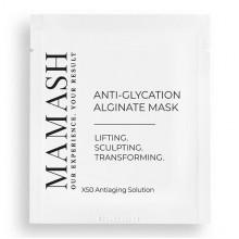 Mamash Organic Антивозрастная альгинатная маска для лица против следов увядания кожи