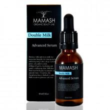 """Mamash Organic Питательная сыворотка для лица """"Double milk"""""""