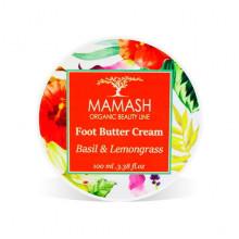 """Mamash Organic Баттер для ног """"Green Tangerine & Basil"""""""