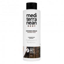 """Mediterranean Cosmetics Care Крем-гель для душа """"Кокосовое молоко"""" Coconut Milk"""
